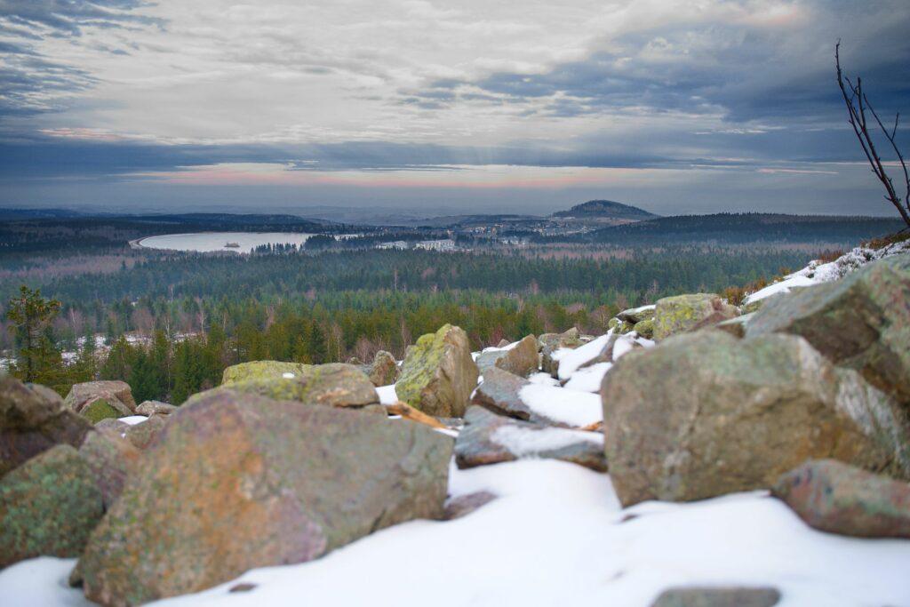 Blick vom Kahleberg